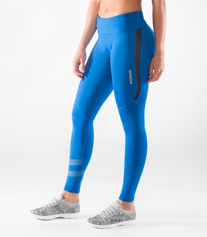 Virus | EAU33 Women's Bioceramic Stealth Mesh Compression Full Pants - XTC Fitness - Toronto, Canada