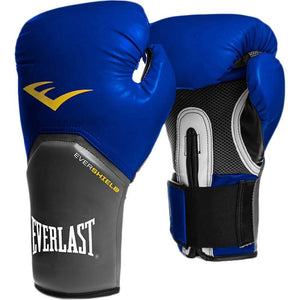 Everlast | Pro Style Elite Training Gloves 14oz Blue - XTC Fitness - Toronto, Canada