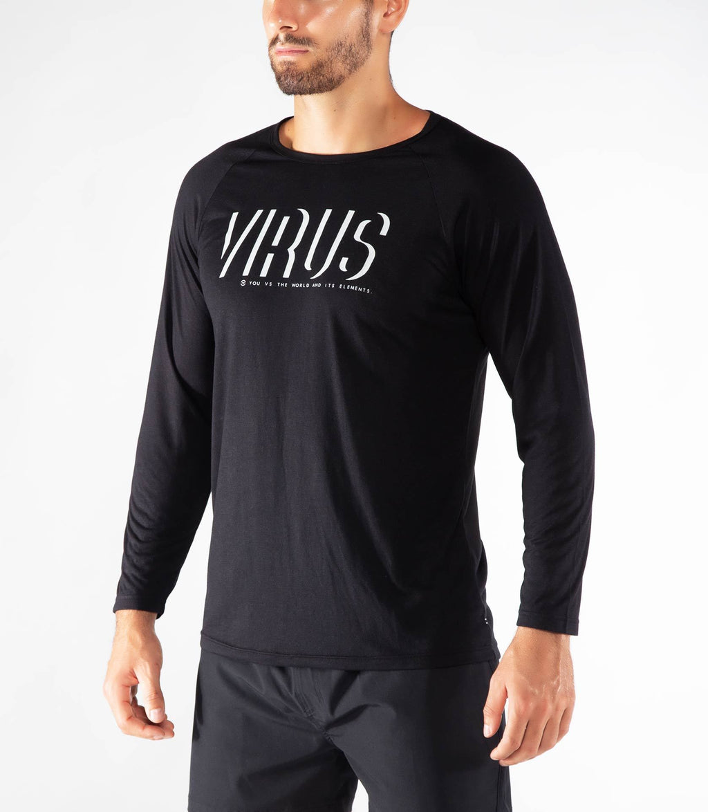 Virus | PC61 Shadow Raglan Long Sleeve - XTC Fitness - Toronto, Canada