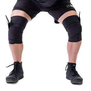 Sling Shot | STrong Knee Wraps - Black - XTC Fitness - Toronto, Canada
