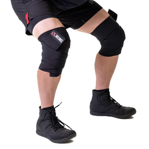 Sling Shot | STrong Knee Wraps - Black