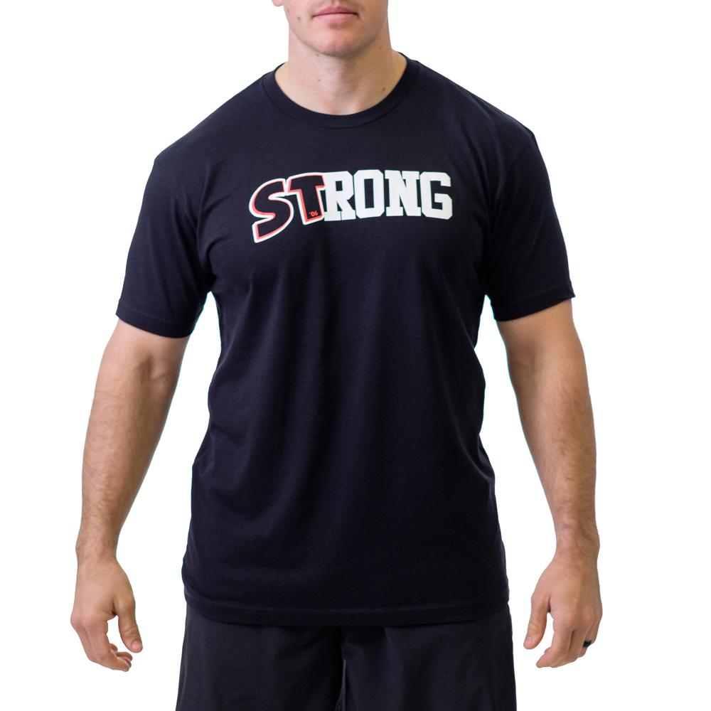 Sling Shot | Mark Bell - Men's STrong Shirt - Black - XTC Fitness - Toronto, Canada