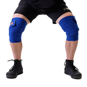 Sling Shot | Knee Wraps - Blue - XTC Fitness - Toronto, Canada