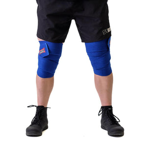 Sling Shot | Knee Wraps - Blue - XTC Fitness
