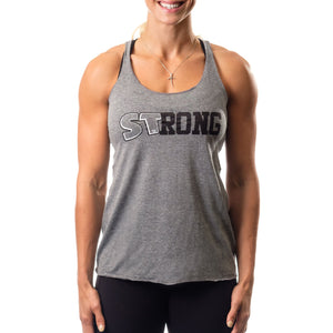 Sling Shot | Women's STrong Tank - Grey - XTC Fitness - Toronto, Canada