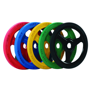York Barbell | Bumper Grip Plates - Color - XTC Fitness