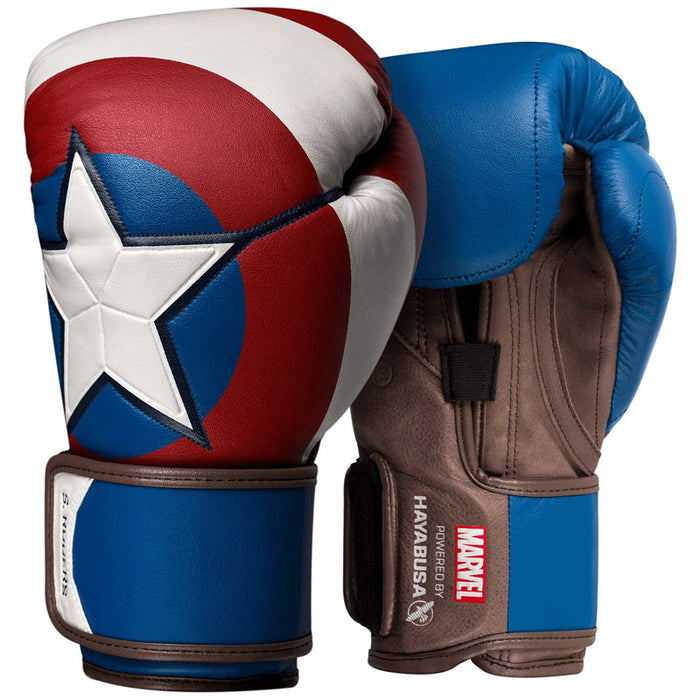 Hayabusa | Boxing Gloves - Captain America