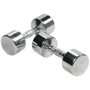 York Barbell | Dumbbells - Solid Steel Chrome Plated - XTC Fitness - Toronto, Canada