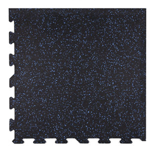 Ecore Athletic | Interlocking Tile - Buff Blue 10 - XTC Fitness - Toronto, Canada
