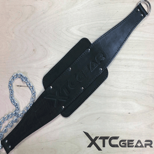 XTC Gear | Legacy Leather Dip Belt - Black - XTC Fitness - Toronto, Canada
