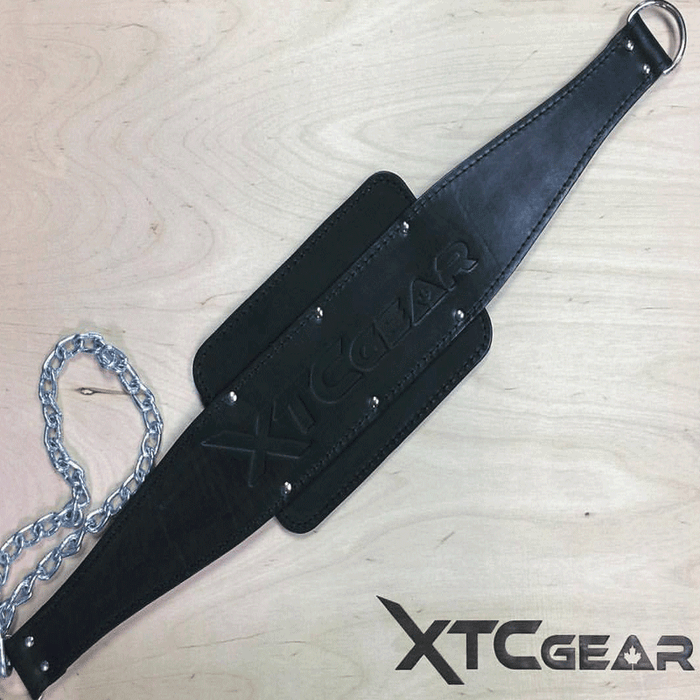 XTC Gear | Legacy Leather Dip Belt - Black