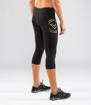 Virus | EAU8 Women's Bioceramic Compression Crop Pants - XTC Fitness