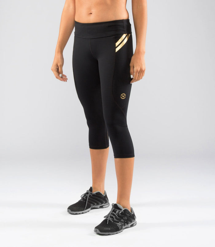 Virus | EAU8 Women's Bioceramic Compression Crop Pants