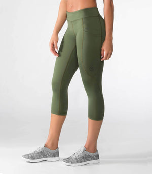 Virus | ECO24 Power Tech Crop Pant - XTC Fitness
