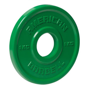 American Barbell | Urethane Fractional Plates - Kilos - XTC Fitness - Toronto, Canada