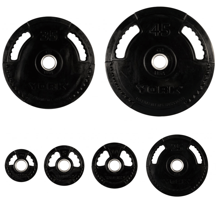 York Barbell | Olympic Plates - G2 Thin Line - Rubber Coated - PRE-ORDER