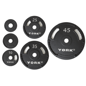York Barbell | Olympic Plates - G-2 - XTC Fitness - Toronto, Canada