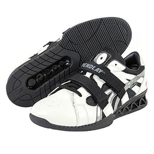 "Do-Win | Pendlay Weightlifting Shoes - 3/4"" - White/Black - XTC Fitness"