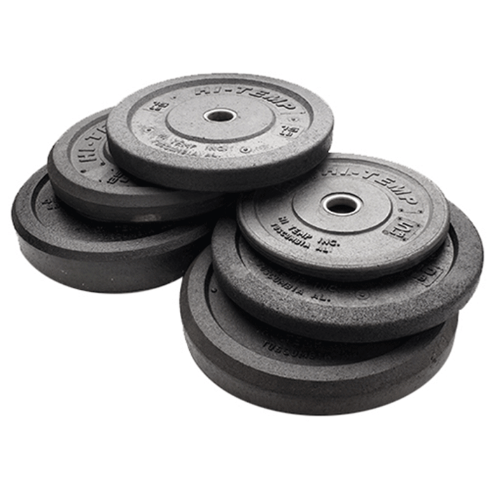 Hi-Temp | Bumper Plates - Black - Pounds