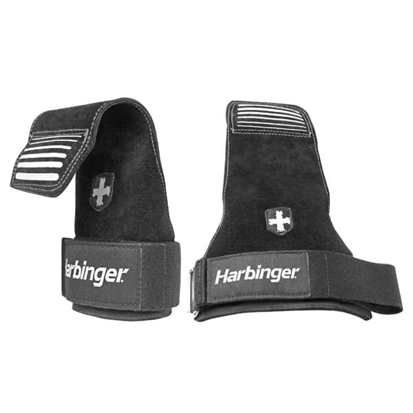Harbinger | Leather Lifting Grips