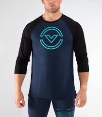 Virus | PC46 Outline Raglan 3/4 Long Sleeve - XTC Fitness - Toronto, Canada