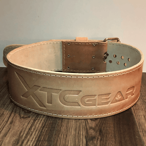 XTC Gear | X-Series Powerlifting Belt Pioneer Cut - 6.5mm - XTC Fitness - Toronto, Canada