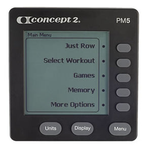 Concept2 | Replacement Monitor - PM5 - XTC Fitness