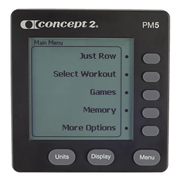 Concept2 | Replacement Monitor - PM5
