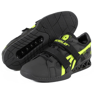 "Do-Win | Pendlay Weightlifting Shoes - 3/4"" - Black/Green - XTC Fitness - Toronto, Canada"