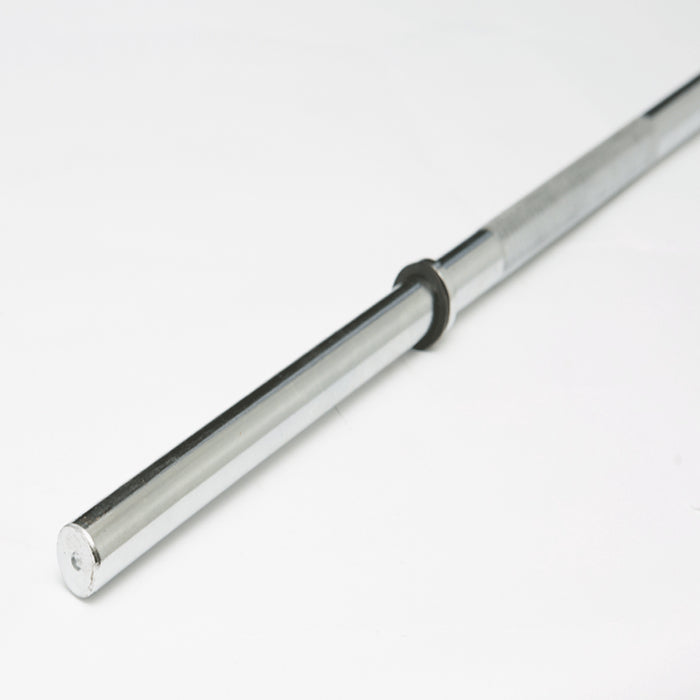 York Barbell | Solid Steel Bar - 7ft