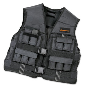 Iron Body Fitness | Adjustable Weight Vest - 20lb - XTC Fitness - Toronto, Canada