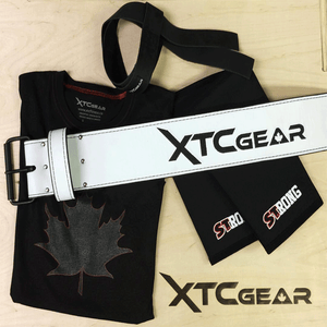 XTC Gear | Elite Series Powerlifting Belt - 10mm - XTC Fitness - Toronto, Canada