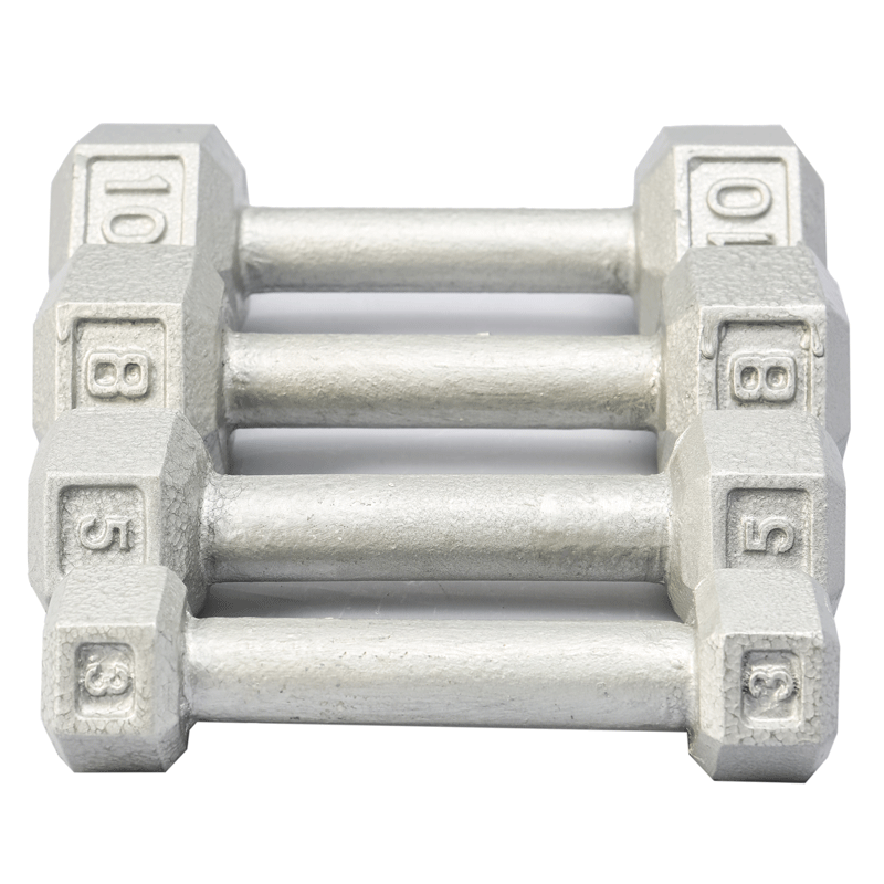 York Barbell | Dumbbells - Cast Iron Hex - XTC Fitness - Toronto, Canada