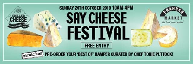 Prahran Market Say Cheese Festival