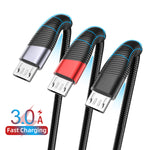 USLION 3M Micro USB Quick Charge Cable Android