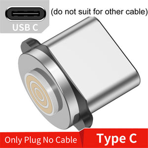 Uslion 3 in 1 3A Magnetic Phone Charging Cable Fast Charger