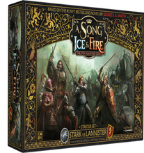 Load image into Gallery viewer, Stark vs Lannister Starter set A Song Of Ice and Fire Core Box
