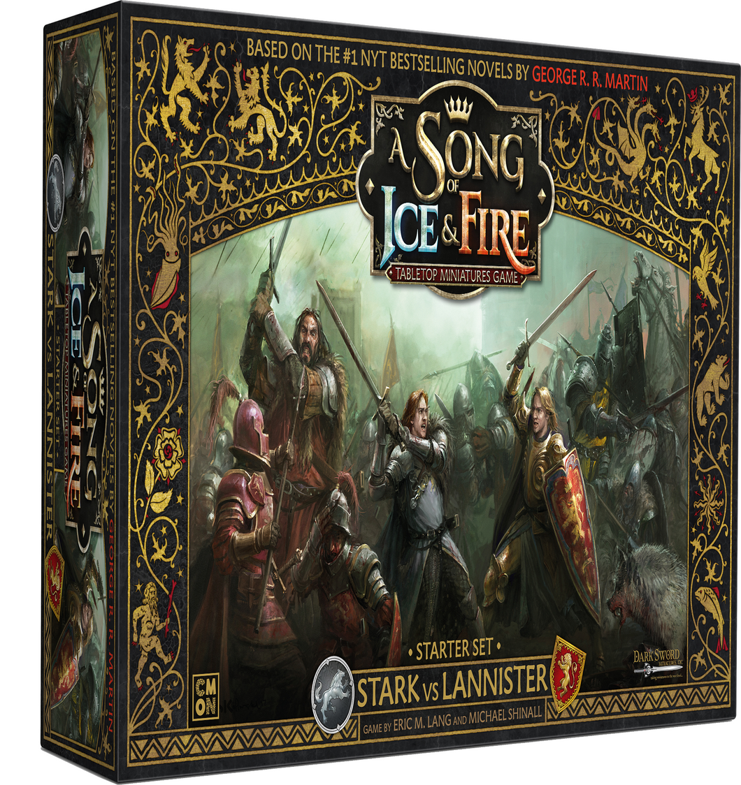 Stark vs Lannister Starter set A Song Of Ice and Fire Core Box