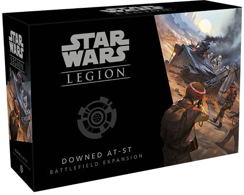 Star Wars Legion Downed AT ST Battlefield Expansion