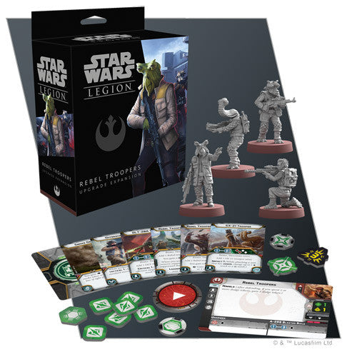 Star Wars Legion - Rebel Troopers Upgrade Expansion