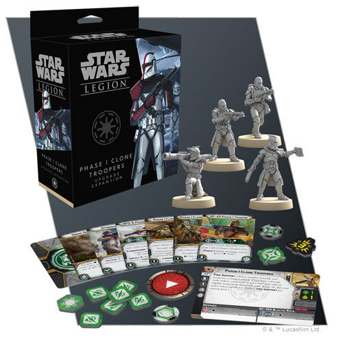 Star Wars Legion - Phase I Clone Troopers Upgrade Expansion