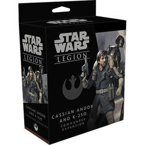 Star Wars Legion Cassian Andor K-2SO Commander Expansion