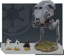 Load image into Gallery viewer, Star Wars Legion AT-ST Expansion size comparison