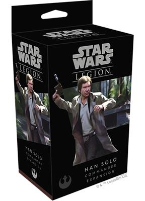 Star Wars Legion Han Solo Commander Operative Expansion