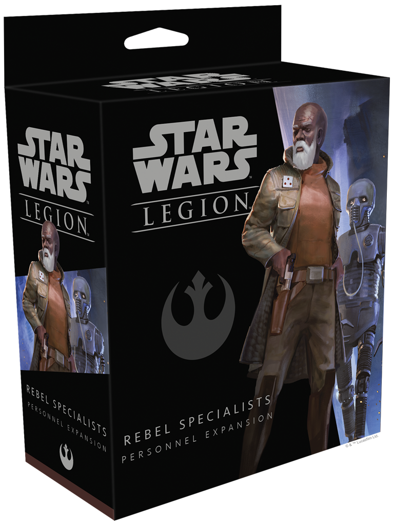 Star Wars Legion Rebel Specialists Personnel Unit Expansion