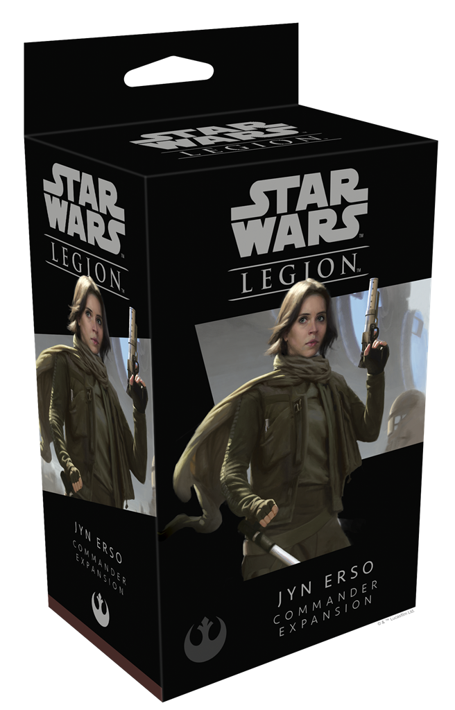 Star Wars Legion Jyn Erso Operative Expansion