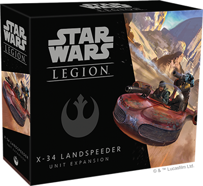 Star Wars Legion X-34 Landspeeder Expansion