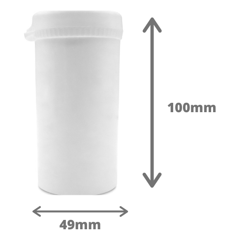 170ml Plastic Round Pill Container, Snap Secure containers, Storage Holder and Lids