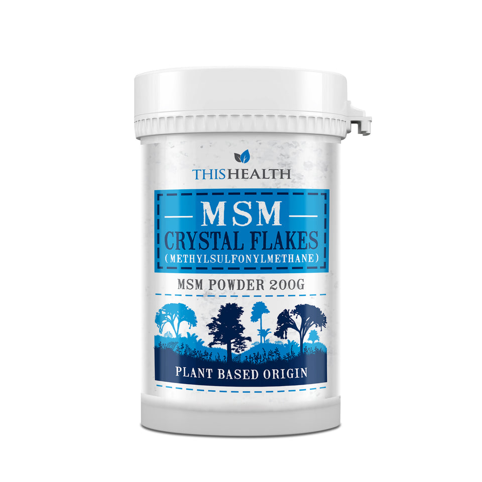 MSM 200g - Canadian Crystal Flakes - This Health