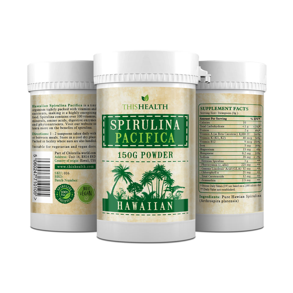 Hawaiian Spirulina Pacifica powder